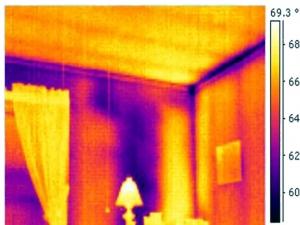 infrarood vocht onderzoek