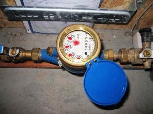 water meter lekkage