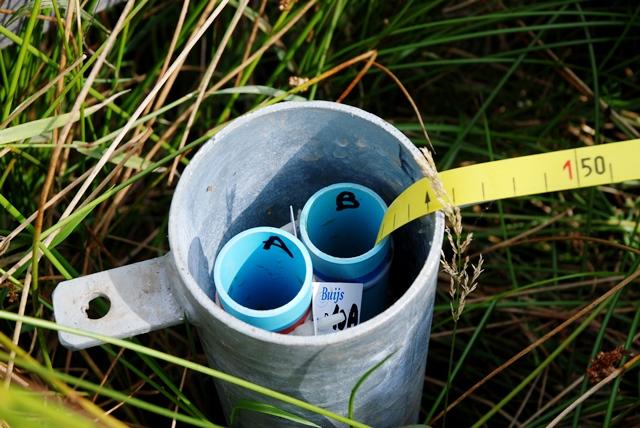grondwaterstand meten