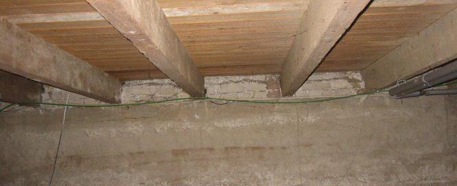 houten vloerbalken